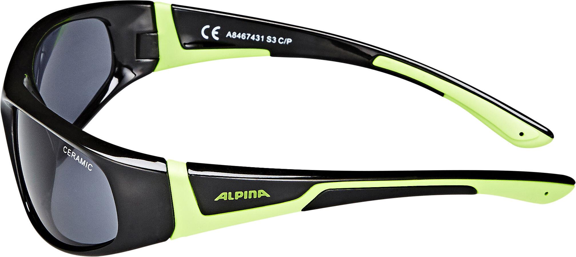 59882c1f63 Alpina Flexxy - Gafas ciclismo Niños - negro   Bikester.es